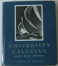 University Calculus Alternate Edition Plus My Math Lab MyMathLab Hardcover