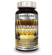 Arginine Xtreme: L-Arginine + Glutamine 2,800mg - Muscle Growth Strength (120ct)