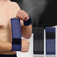 Elastic Wrist Hand Brace Support Palm Wrap Sleeve Band Gift-. Traning Gym S K7F3