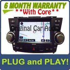 Toyota Highlander HYBRID Navigation GPS Touch Screen JBL Radio CD Player E7015