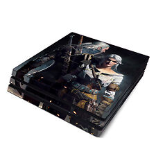 Skin Decal Cover Sticker for Sony PS4 Pro - Witcher 3 Wild Hunt
