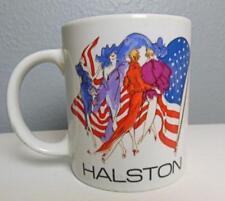 Vintage Halston Mug 3.75 American Fashion Classic