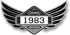 Winged STEMMA ANNO datato 1983 Classic Edition CAFE PER MOTO MOTOCICLISTA
