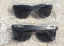 Lot of 2 Bacardi Oakheart Rum Sunglasses - Black - Wayfarer Style - New!!!