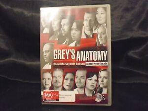 Grey's Anatomy : Season 7 - 6-Disc Set - BRAND NEW & SEALED - REGION 4