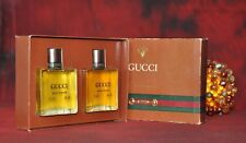 GUCCI POUR HOMME CLASSIC SET EDT 60ml & AFTERSHAVE 60ml, VINTAGE, VERY RARE, NEW