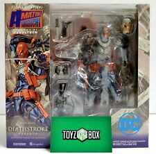 """in STOCK Revoltech Amazing Yamaguchi 011 """"Deathstroke"""" Action Figure"""
