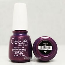 Gelaze China Glaze LED UV Nail Gel Color Polish 0.5 oz - Coconut Kiss 81621