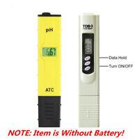 Digital Ph + TDS Meter  Hydroponics Pool Spa Aquarium Liquid Tester Pocket Pen