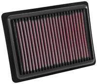 33-5043 K&N High Flow Air Filter fits VAUXHALL VIVA 1.0 & OPEL KARL 1.0 2015-