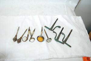 Set 8 Victorian Picture Nails  Hangers