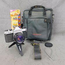 Pentax K1000 35mm Film SLR Manual Focus Camera Body & Non-Working Lens Parts?