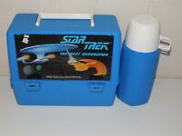 Vintage Star Trek The Next Generation Lunchbox With Thermos