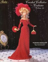 1908 Beaded Theater Gown Crochet Collector Costume Vol 44 Paradise Publications