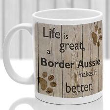 TAZZA per cane Border Aussie, bordo Aussie cane regalo, ideale per attuale Amante dei Cani