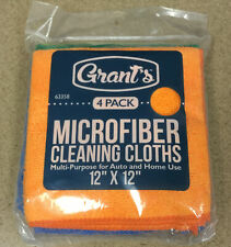 Microfiber Cleaning Cloths 4 Pack. Great For Cleaning! Ships Free!
