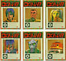 Star Wars - Galaxy 2018 - Wanted Posters - Complete 6 Card Chase SET 2018 - NM