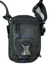 Samsonite Journey Small Camera Pouch 803BK Photo Carry Bag with Strap Black Blue