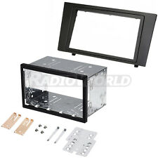 Ford Mondeo Double Din Fascia Panel Adapter Plate Cage Fitting Kit DFP-07-07