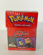 Pokemon Cards - Team Rocket Deck Box - SEALED