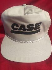 Case Grey Mens Cap Hat Adjustable Free Shipping!