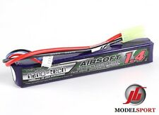 NanoTech 1400mah 3 Cell Airsoft Lipo Stick Battery Pack 11.1V  15 - 25 C