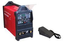 Inverter soudeur Jet TIG III AC/DC 200 3w1 PFC Plasma WIG/MMA/HF/Pulse Pédale
