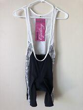 NWT Womens Canari Signature Short Black Cycling Padded Pants Size Small