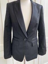 Ted Baker Lined Black Suit Jacket Size 2 Or 10