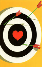 Bullseye With Heart Center Miss You Card - Greeting Card by Freedom Greetings