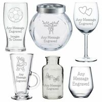 Personalised Glass Gifts For Uncle Auntie Sister Brother Daddy Mummy Birthday