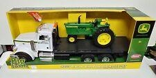 1/16 Big Farm John Deere 4020 Tractor w/ Peterbilt Model 367 New in Box by Ertl