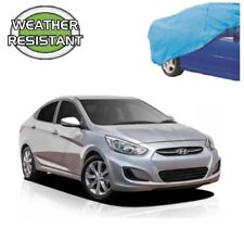 Car Cover Suits Hyundai Accent Sedan to 4.57m WeatherTec Lightweight Non Scratch