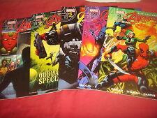 UNCANNY AVENGERS #0 1 2 3 4   Marvel Comics 2015 NM