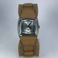 Billabong Womens BB2045 Quartz Analog Dial Casual Wristwatch Brown Leather Band