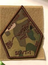 NAVY SEAL Group 3 SDVT Special Warfare NSWG Frogman Armband Patch MULTI-CAM