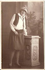 Foto AK sottili dama in bel costume/Carnevale-Waidhofen a.d. Thaya 1928