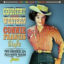 Connie Francis - Country & Western Connie Francis Style [New CD] UK - Import