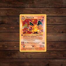 Charizard Trading Card (Pokemon) Decal/Sticker