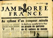 LOT REVUES JAMBOREE FRANCE 1 à 15. 1947.