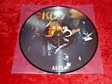 Kiss  Picture Disc ALIVE KISS Army Mexico Import! NM!