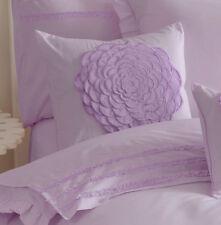Floret Purple Square Cushion Bedding Girls Floral Flowers Luxury Pillow Lilac