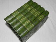 Sämtliche Werke von Fritz Reuter. 1885  5 Bände! Band 1 bis Band 5.  (4)