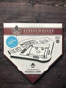 "Atlanta Braves Baseball Game ""Across The Board"" - Solid Wood Board - NEW!"