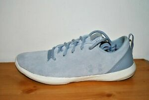 Under Armour Women's Precision Sport Gray Leather Sneakers - Size 10