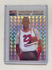 1985 Michael Jordan Prism Sticker Card w/ Original Jordan 1's. 👌🏾
