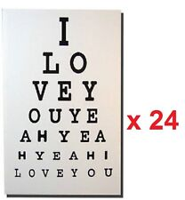 Wholesale Job Lot 24 x The Beatles I love You Yeah Canvas Wall Art 40 x 60cm