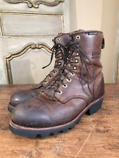 VINTAGE CHIPPEWA SCOUT LOGGING HIKING ENGINEERING MENS BOOTS SIZE 11 W