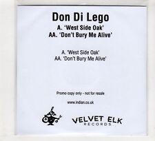 (HC727) Don Di Lego, West Side Oak - 2016 DJ CD