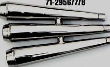 Silencers X75 Triumph Hurricane (3) UK Made Part No.71-2956, 71-2957, 71-29558